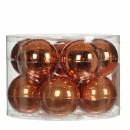 Набор 10 шаров  6 см Медный
