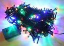 Электрогирлянда LED 300  4 цвета 22 метра