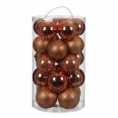 Набор пластиковых шаров 23 шт Медный