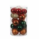 Набор пластиковых шаров 23 шт Разноцветный