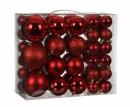 Набор пластиковых шаров 46 шт Красный