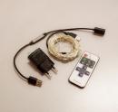 Электрогирлянда LED 100 Холодный  Белый 10 метров